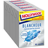 Hollywood HOLLYWOOD Blancheur menthe polaire - Chewing-gum - 70g