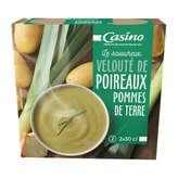 CASINO Velouté - Poireaux pommes de terre - Brique
