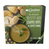 CASINO Recette gourmande - Velouté - Légumes verts