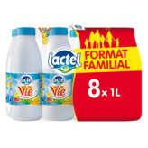 Lactel Bol De Vie - Lait Aux 10 Vitamines -