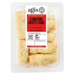 Nem - Crevettes - Crabes - Sauce nuoc mam - x6