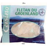 CASINO Portion de filet fletan du groenland 500g