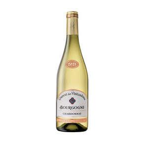 Chardonnay - Bourgogne - Couvent des Visitandines - Vin blanc sec