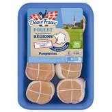 Douce France Paupiettes De Poulet X 8 1,04kg