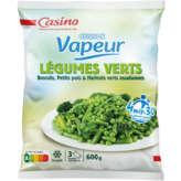 CASINO Cuisson vapeur - Légumes du potager - Broco