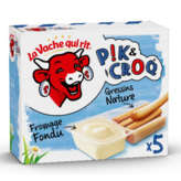 La vache qui rit Fromage Fondu Et Gressin X5 - 1