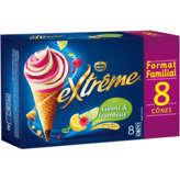 Nestlé Nestle Extrême - Cônes Glacés Citrons Framboise - 568g
