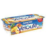 Danone Velouté - Yaourt Aux Fruits Jaunes - Pêche Mangue Abr... - 8x125g
