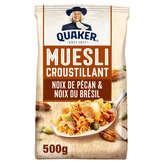 Quaker Golden Muesli - Céréales Aux Noix De Pécan Et Noix Du... - 500g