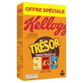 Kellogg's Tresor - Céréales - Roulette - 750g