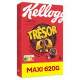 Kellogg's KELLOGG'S Trésor - Céréales chocolat noisettes - 620g