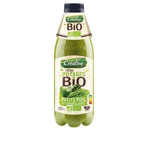 Potage petits pois et légumes verts - Biologique