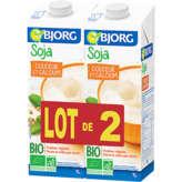 Bjorg Boisson - Soja - Douceur Et Calcium - Brique - Biologi... - 2x1 L