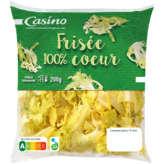 CASINO Frisée 100% cœur 200g