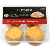 Guyader Mini Sablés - A Tartiner - Farine De Sarrasin - Apér... - 16x5g