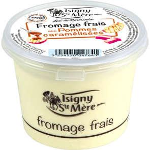 Fromage frais aux pommes caramelisées - 6,5% mg