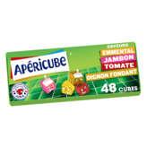 Apéricube Cubes De Fromages Apéritifs - Emmental, Jambon, To... - 250g