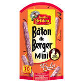 Justin Bridou Bâton De Berger Mini - Poulet - 100g