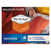 Delpeyrat Saumon Fumé Sauvage - 120g