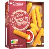 CASINO Sticks Cheese in - Emmental 300g