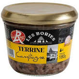 Les Bories LES BORIES Terrine de Campagne - Label rouge - 180g