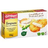 GIMBERT OCEAN tempura - Filet de cabillaud - Sans arêtes