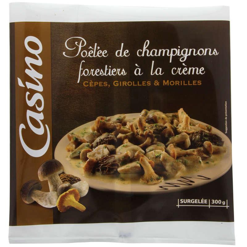 Poêlée de champignons forestiers à la crème - Cèpes, ...