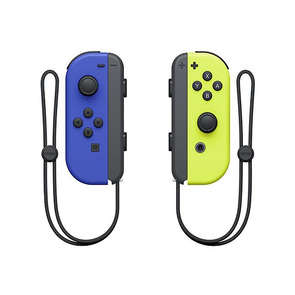 Manette SWITCH Joy-con bleu et jaune