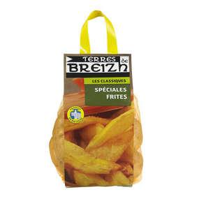 Pommes de terre de consommation - Pour frites - Filet - Cat. 1 - Cal. 50/75 - France