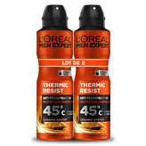 L'Oréal L'OREAL Men expert - Déodorant thermic resist - 2x200ml