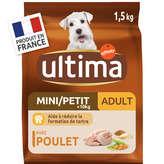 Ultima Croquettes Poulet Riz, 1-10kg - 1,5kg