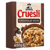 Céréales Cruesli Chocolat noir Quaker