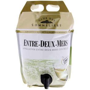 Entre deux mers - Bordeaux - AOC - Alcool 12,5% vol. - Vin blanc