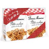 Bonne Maman Petits Cookies pépites de chocolat le lot de 2 paquets de 275 g