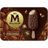 Magnum MAGNUM Collection - Bâtonnet glacé - Caramel salé et éclats ... - x4