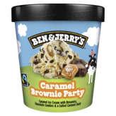 Ben & Jerry's BEN & JERRY'S Caramel Brownie Party - Crème glacée - Caramel... - 465ml