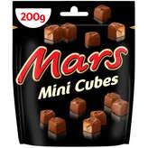 Mars Mini Cubes - Barres Chocolatées - 200g