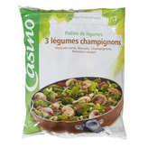 CASINO Pôélée de légumes - 3 légumes champignons -