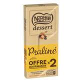 Nestlé NESTLE Dessert - Tablette de chocolat - Pâtissier - Lait - P... - 2x170g