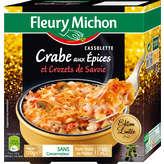 Cassolette de Crabe aux Epices et Crozets de Savoie