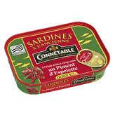 Connetable sardines à l'huile d'olive et piment d'Espelette 1/6 115g - ( Prix Unitaire ) - Envoi Rapide Et Soignée