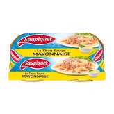 Saupiquet SAUPIQUET Thon sauce mayonnaise - 2 x 135 g