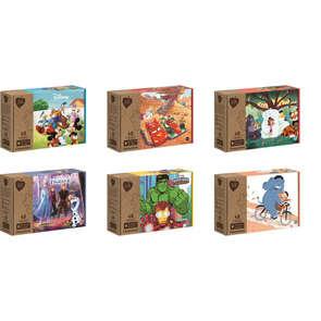 Puzzles 48 pièces modèle aléatoire