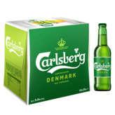 Carlsberg CARLSBERG Bière blonde - Alc. 5% vol. - 12x25 cl