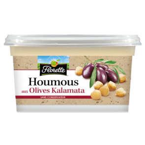 Houmous olives noires