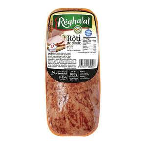 Roti de dinde cuit - Halal
