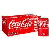 Coca Cola Mini - Soda Cola - Frigo Pack - 8x15cl