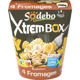 Sodeb'O SODEBO Xtrem Box - Radiatori - Aux fromages italiens - 400g