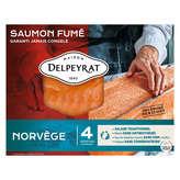 Delpeyrat Le Saumon - Norvège - Tranches De Saumon Fumé Extr... - X