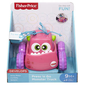 Monstre press and go Fisher Price